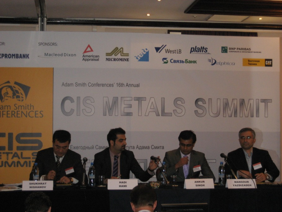 February 2011 Dana Group S Participation At Cis Metals