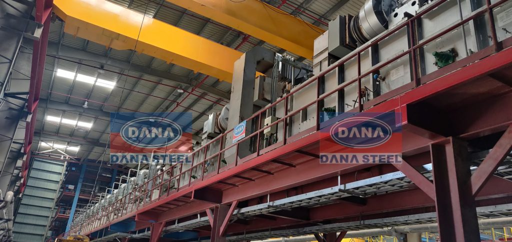 Galvanized Gi Coil Manufacturer & Supplier UAE OMAN SAUDI ARABIA AFRICA - DANA STEEL