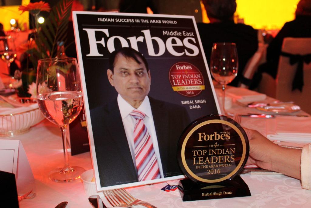 Forbes TOP 100 INDIAN Leaders List - UAE - DANA GROUP CHAIRMAN