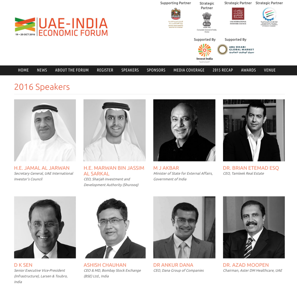 ankur dana group uae india economic forum speaker