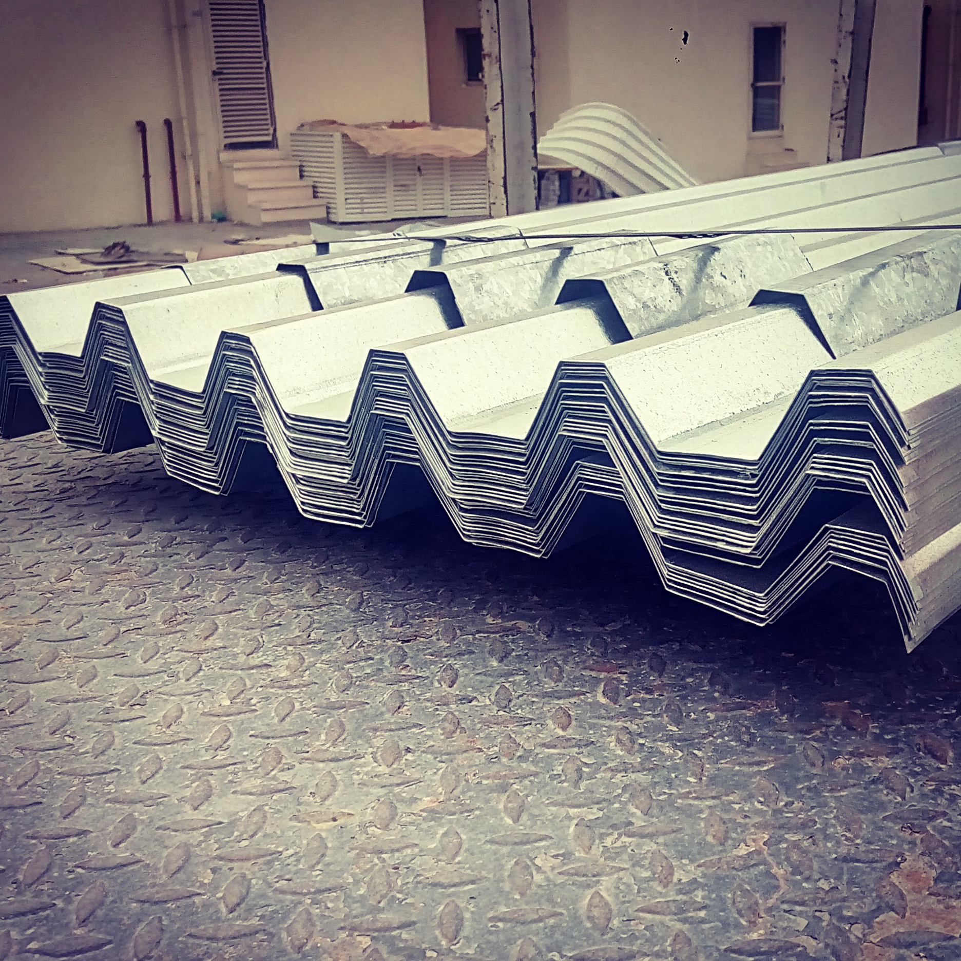 Colour Coated Roof Corrugated Cladding Sheet Supplier