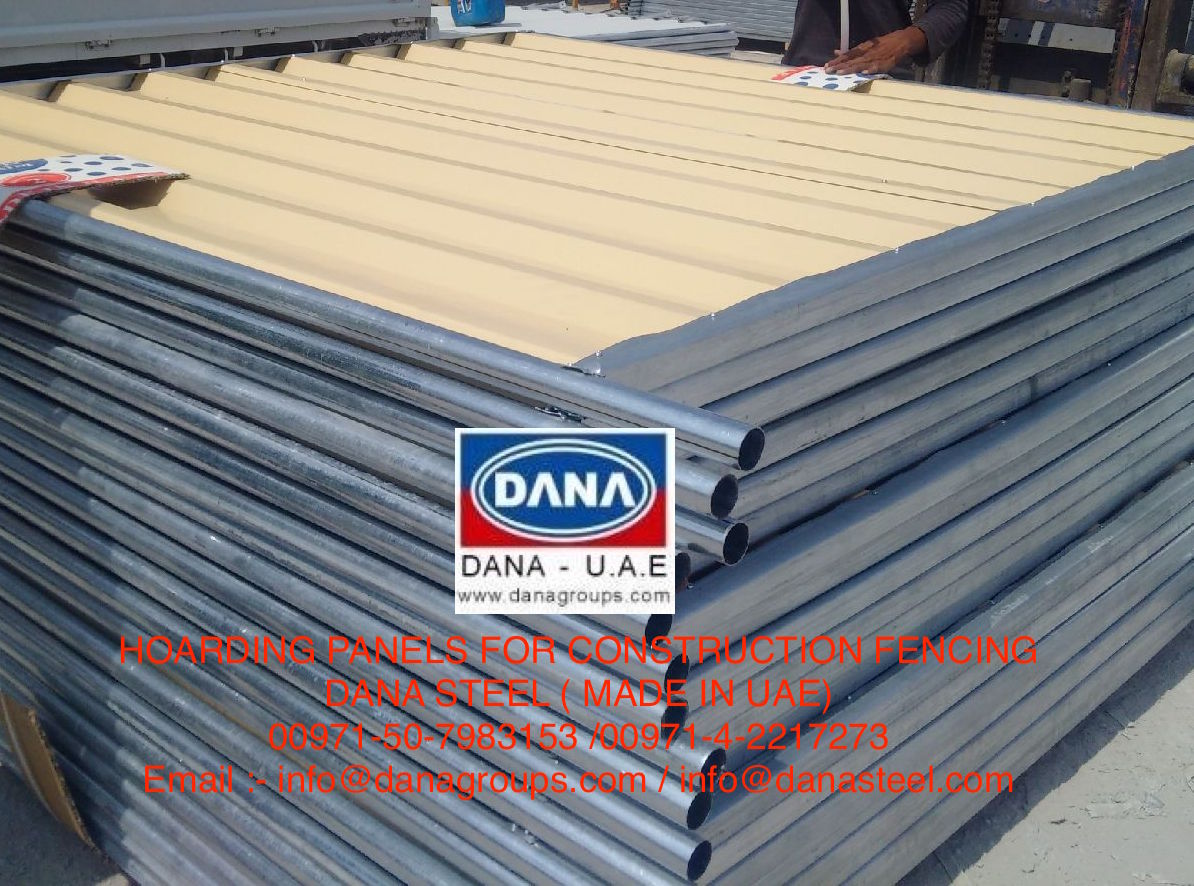 Corrugated Profile Sheet Hoarding Temporary Fencing Panel