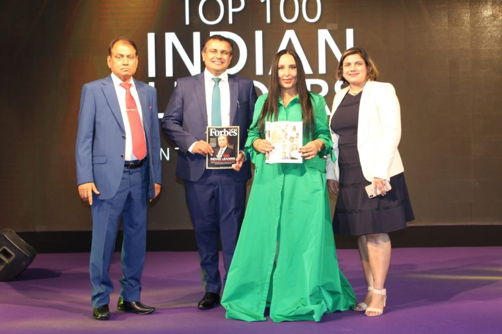 Forbes 2019 Top 100 Indian Leaders in the Middle East - Dr Birbal Singh Dana Forbes NexGen 2019 Leaders - Dr Ankur Dana and Dr Ruchi Dana