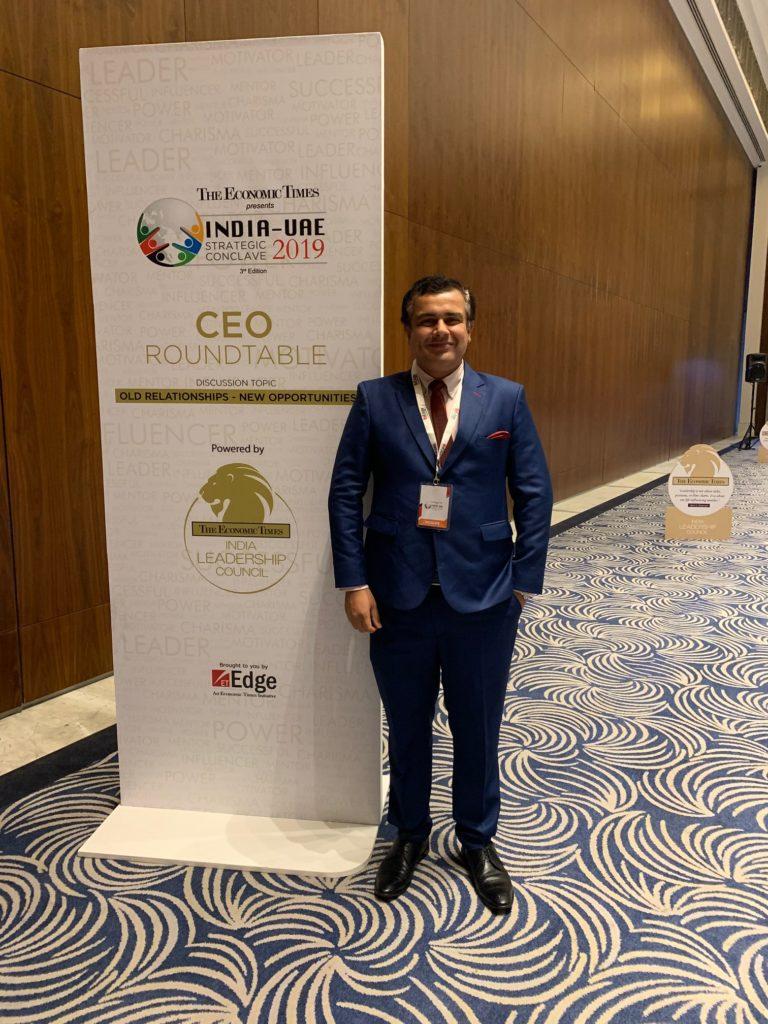 Dr Ankur Dana_CEO ROUND TABLE @ UAE INDIA STRATEGIC CONCLAVE