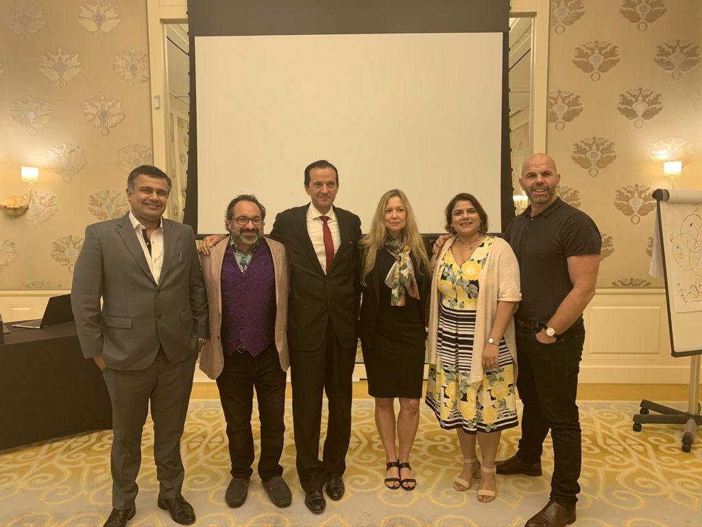 Dr Ankur DAna & Dr Ruchi Dana at the Ritossa Dubai Summit 10th Edition