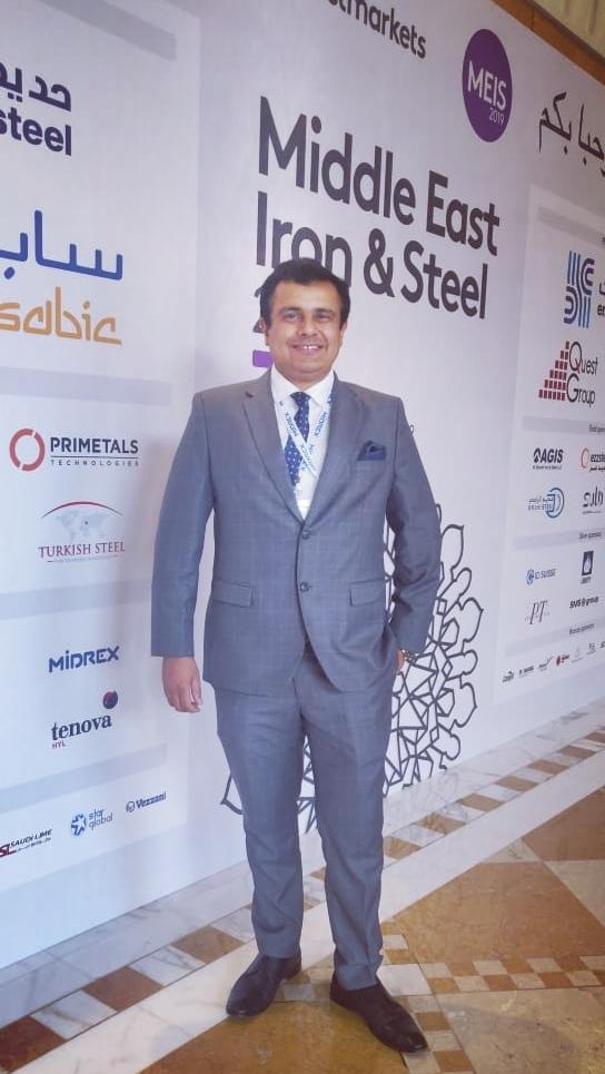 DANA STEEL Group CEO Ankur Dana - UAE Steel Coil SUpplier GI PPGI COLOR COATED STEEL
