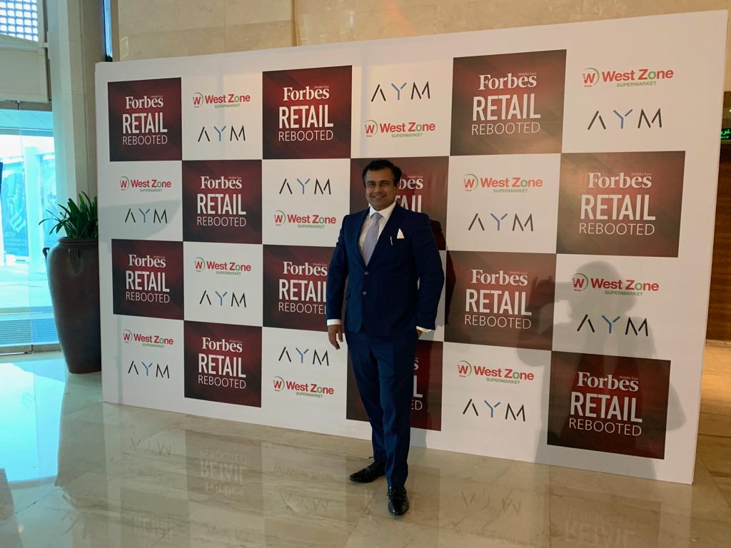 Dr Ankur Dana - Group CEo - DANA Group - FORBES retail REbooted event