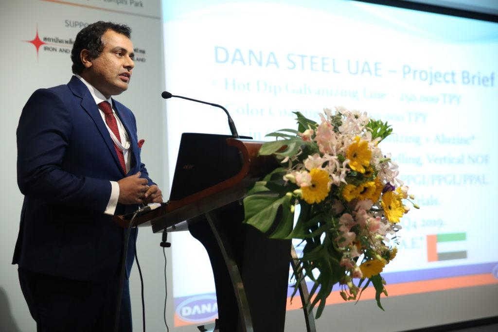 Dr Ankur Dana - DANA Steel UAE Manufacturer Supplier Of Galvanized Coils PPGi Coils AZ Coils & Sheets Dubai UAE