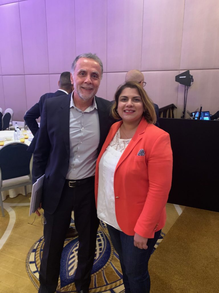 dr ruchi Dana With Aramex Founder