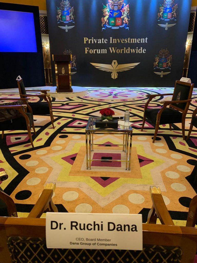 Dr Ruchi Dana - DANA Group Board Member - UAE leading Business Group